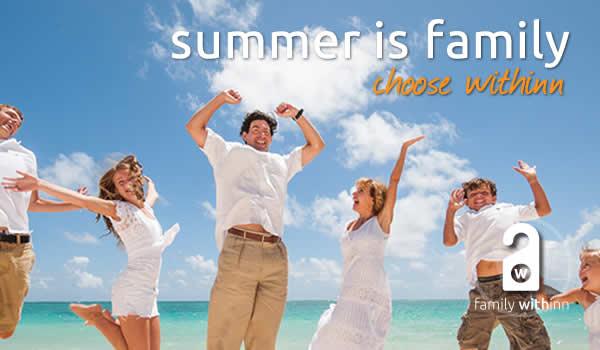 Summer is family - enjoy withinn