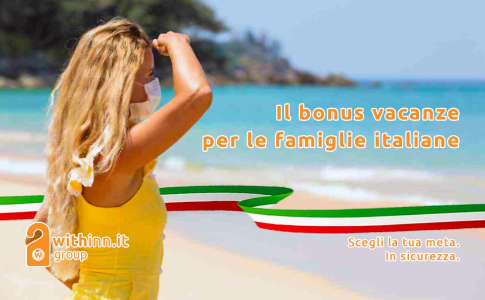 Il bonus vacanze per le famiglie italiane