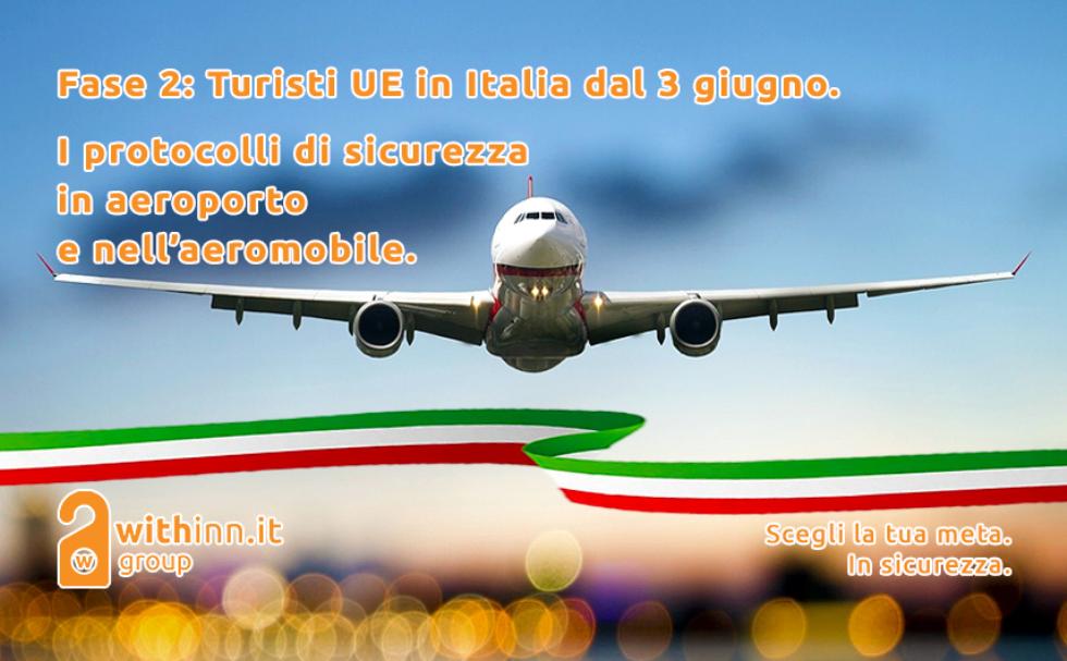 Turisti UE in Italia dal 3 giugno