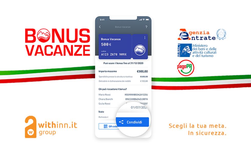 Bonus vacanze: dal 1° luglio tramite l'App IO