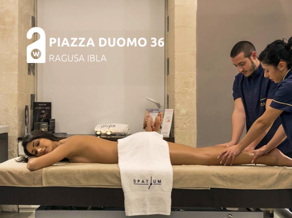 Piazza Duomo 36 ha pensato al tuo relax nel cuore di Ibla