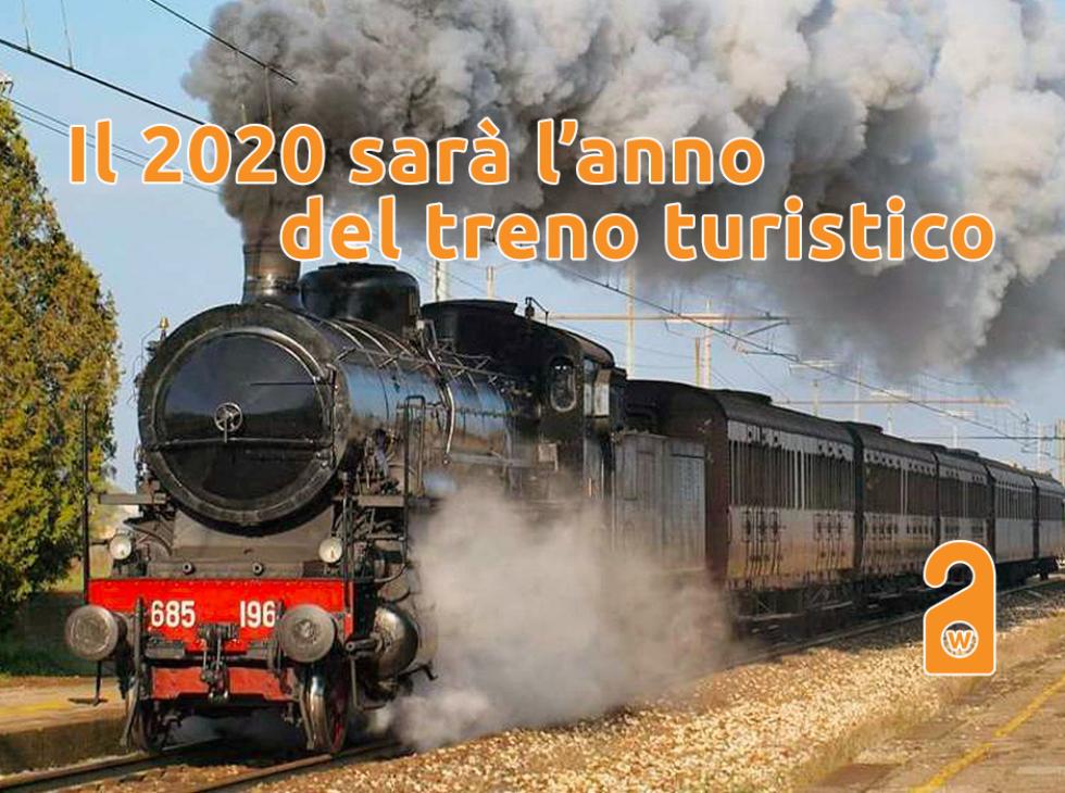 Il 2020 sarà l'anno del treno turistico